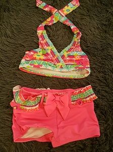 Other - Multi color bathing suit